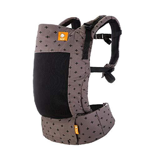 Tula Standard Coast Mason Porte-bébé ergonomique pour bébé de 7 à 20,4 kg ou de 3,2 kg avec coussin bébé