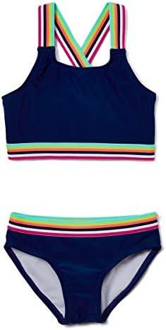Kanu Surf Girls Tanya UPF 50 Beach Sport Athletic Bikini Swimsuit Bobby Navy 10 product image