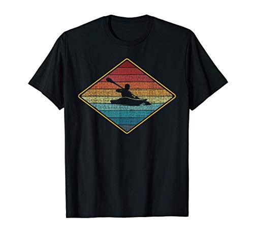 kayaks kayaking Kajak fahren kajak kano Kanu canoë Paddeln T-Shirt