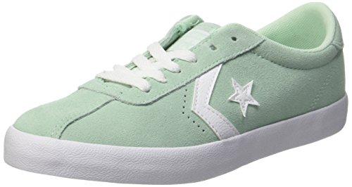 Converse Unisex-Kinder Breakpoint OX Mint Foam/White Sneaker, Grün (Mint Foam/Mint Foam/White), 38 EU