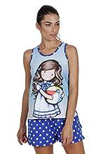 SANTORO Pijama de Tirantes Beachball para Mujer