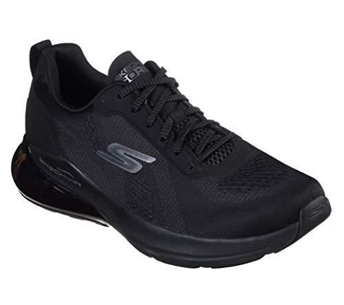 Skechers Men's Go Run Air Jetstream-Performance Running & Walking Shoe Sneaker, Black, 9.5 D US
