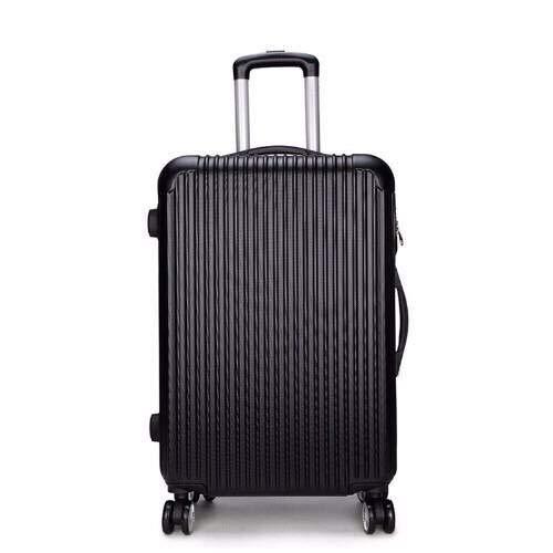 Koffer met aluminium frame, koffer, dameskoffer, paspoort, voor heren, 50,8 cm (20 inch),  Blanco Y Gris (zwart) - errhf656566473