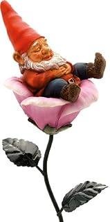 Gnome Sleeping on Leaf cm 14 H
