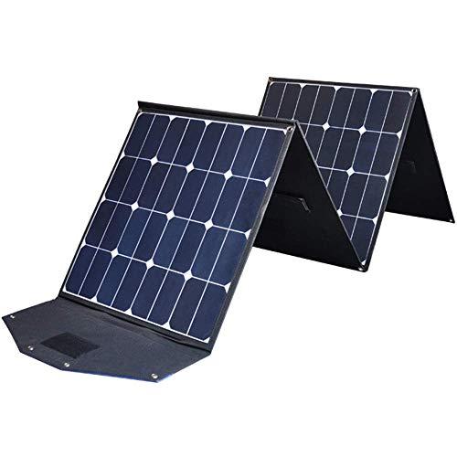 FOOX Cargador Solar del Cargador del Panel Solar 200W Cargador Solar práctico con conexión a 1 MC4 for los teléfonos Inteligentes, Las tabletas, los Viajes al Aire Libre, Camping