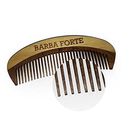 Pente Madeira 12 Cm, Barba Forte