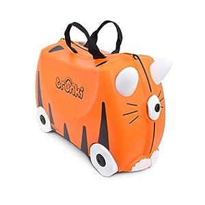 Trunki Children?s Ride-On Suitcase: Tipu Tiger (Orange)
