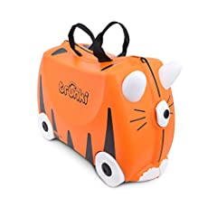 Hard-wearing and light weight plastic Award-winning British design, made in the UK and China Ride-on, tow-along, carry-on suitcase, ideal for vacations, sleep overs, weekends away Perfect for planes, trains and automobiles and att home, encourages pr...