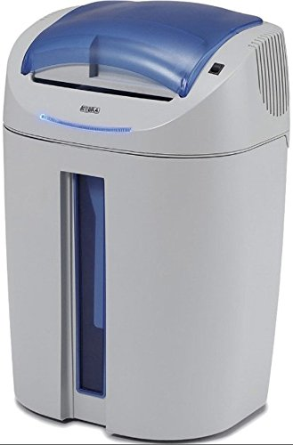 KOBRA Aktenvernichter +2 CC2 Leise, vielseitig und umweltfreundlich schreddern, lichtgrau/blau