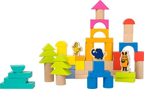 small foot design- Blocs de Construction en Bois-la Souris, 10497