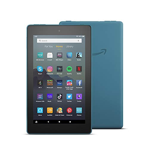 Fire 7 Tablet | 7' display, 32 GB, Twilight Blue - with Ads