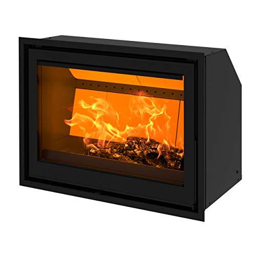 Dovre 01.93511.021 Vista 802I Kamineinsatz mit Vermiculit-Platten im Brennraum/A