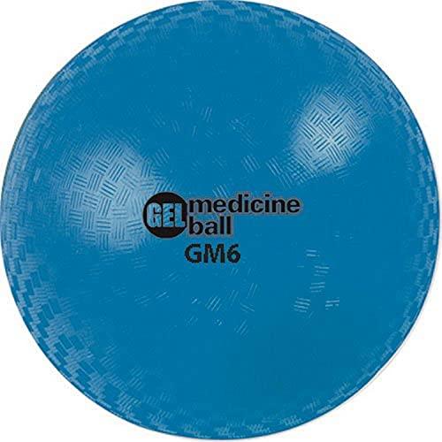 Champion Sports Gel Filled Medicine Ball (Blue 4lbs)