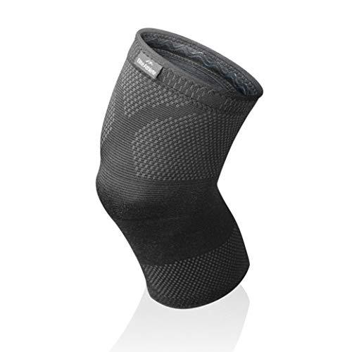 EliteAthlete Kniebandage - Premium Kompressionsbandage die stabilisierend und schützend wirkt – Knieschoner für Sport, Fitness, Alltag - Männer & Frauen – rutschfeste Kniebandagen für Damen & Herren