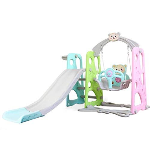 Toddler Kids Climber and Swing Set, Baby Boys Girls Mountaineering and Swing Set, Suitable for Indoor and Backyard Baskets Easy Climb Stairs for Infant Playground Games