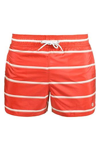 Blend Salvio Herren Schwimmshorts, Größe:L, Farbe:Grenadine Red (73013)