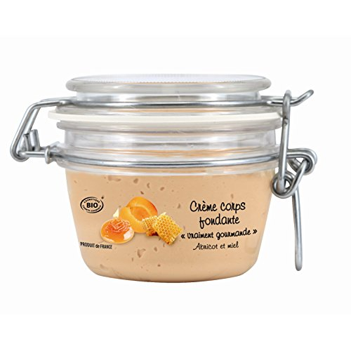 Secrets de Léa Soins Gourmands Crème Corps Fondante Abricot et Miel Pot de 150 ml