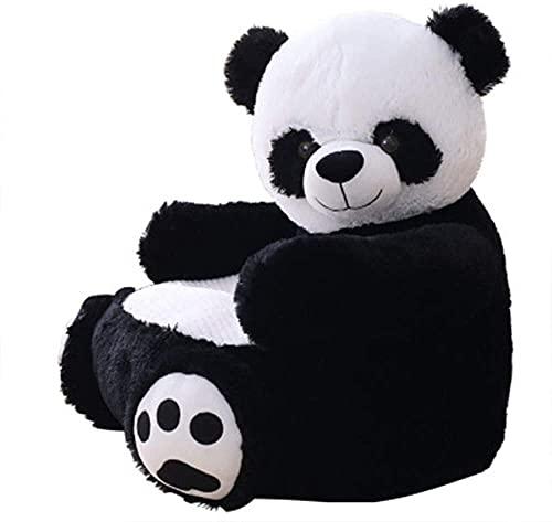 YONGJUN Sofá para NiñOs Niños Sofá Sofá Sofá Sofá Aprendizaje Sentado Muebles para Bebé Soporte para Asiento Sofá para Niños (Color: Oso, Tamaño: 50x50x45cm) (Color : Panda, Size : 50x50x45cm)