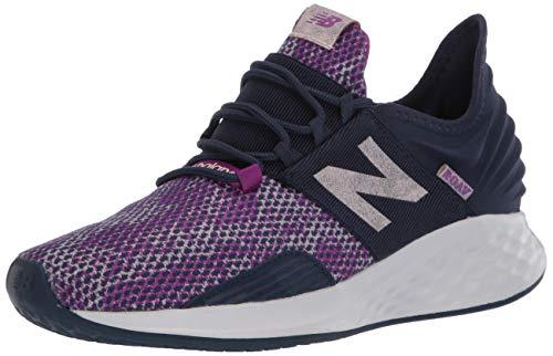 New Balance Women's Roav V1 Fresh Foam Running Shoe ,NATURAL INDIGO/SMOKED SALT , 6.5 W US