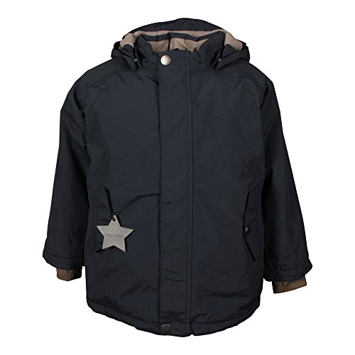 MINI A TURE Kinder Winterjacke Wally 17.3 Blue Nights (blau), Größe:80 cm/12 m