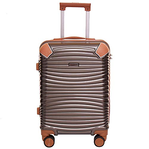 Pc Trolley case Retro Box 20 inch universeel wiel 24 inch koffer hangmat Fashion Travel Bagage Board Opbergdoos Universele Wiel Lock Box