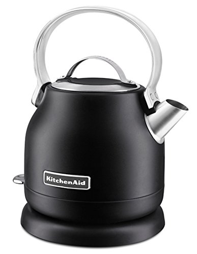 KitchenAid 1.25-Liter Electric Kettle, Black Matte