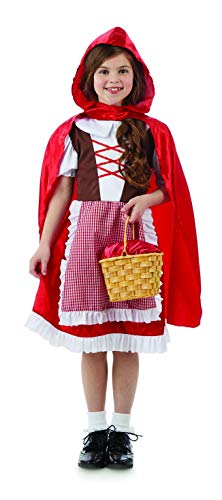 Fun Shack Roja Caperucita Roja Disfraz para Niñas - XL
