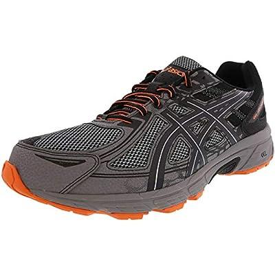 ASICS Mens Gel-Venture 6 Running Shoe, Frost Grey/Phantom/Black, 12 Medium US