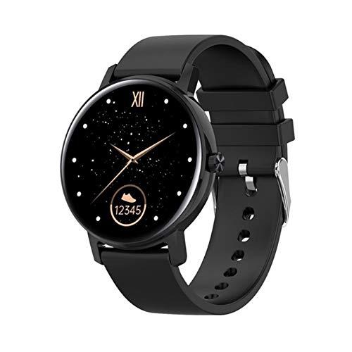 JXFF L01 Zifferblatt Bluetooth Call Smart Watch Herren Full Touch Heart File Monitor Multipipe Sports 390 * 390 Smartwatch PK KW10 KW19 DT88 DT89 Für Android Ios,B
