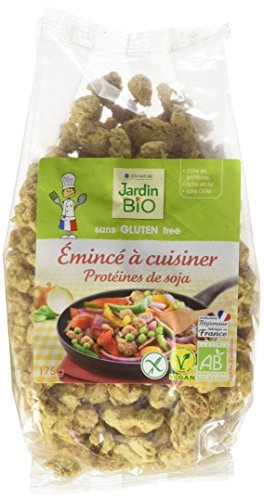 Jardin Bio Protéines de Soja à Cuisiner sans Gluten 175 g
