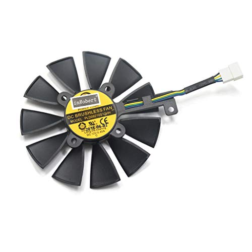 ATATMOUNT 87MM PLD09210S12M PLD09210S12HH Lüfter ersetzen für ASUS Strix GTX 1060 OC 1070 1080 GTX 1080Ti RX 480 Grafikkartenlüfter