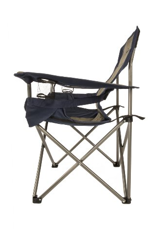 Kamp-Rite Padded Folding Chair with Lumbar Support.