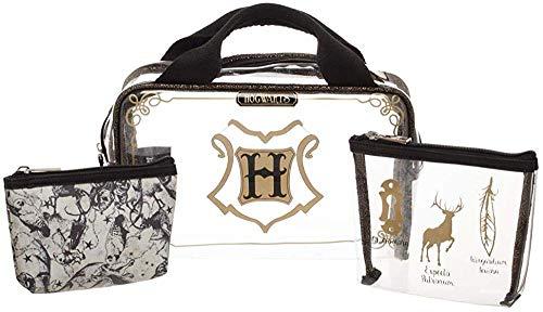 Bioworld Merchandising / Independent Sales Harry Potter 3 Piece Toiletry/Cosmetic Travel Set Standard