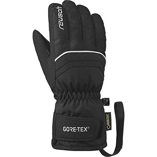 Reusch Kinder Tommy GTX® Velcro Fingerhandschuhe schwarz 7
