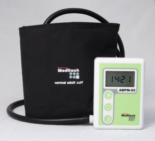Meditech ABPM-05 Set 24 Hour ABP Monitor With PC Software & Recorder