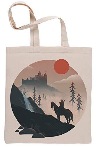 Geralt En los Paseo Beige Reutilizable Bolsa De Compras Reusable Beige Shopping Bag