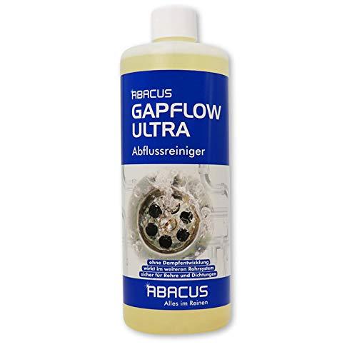 ABACUS GAPFLOW ULTRA 1000 ml - Abflussreiniger Rohrfrei Abfluss Verstopfung Reiniger Rohre Abwasser Abwasserrohre Abflussrohre Rohrverstopfungsmittel Haarlöser flüssig