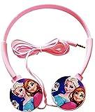 Best Kid Earphones - ExcluZiva Gallery Frozen Princess Girls Headphone 3.5mm Jack Review