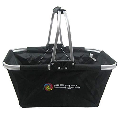 Picnic Basket Thermal Insulation Bag Outdoor Double Handle Picnic Folding Picnic Basket Ice Bag Shopping Basket Picnic Hamper