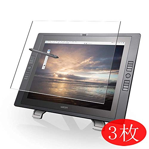 [3 Pack] Synvy Screen Protector Compatible with Wacom Cintiq 21UX DTZ-2100D 21.3' TPU HD Film Protectors [Not Tempered Glass]