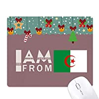 私はアルジェリアから ゲーム用スライドゴムのマウスパッドクリスマス
