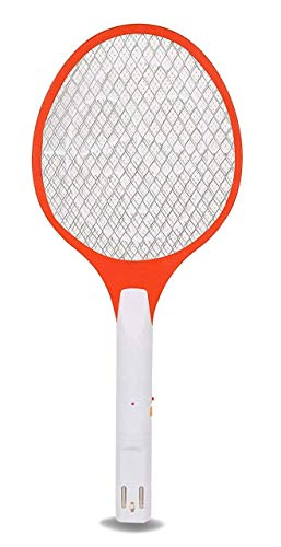 RUMPES Fly swatter Mosquito bat Bug Zapper Rechargeable Racket, Insect Fly Killer, Mosquito Repellent Electric Swatter, Unique 3-Layer Safety Mesh for Home, Office