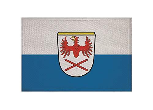 U24 Aufnäher Hausham Fahne Flagge Aufbügler Patch 9 x 6 cm