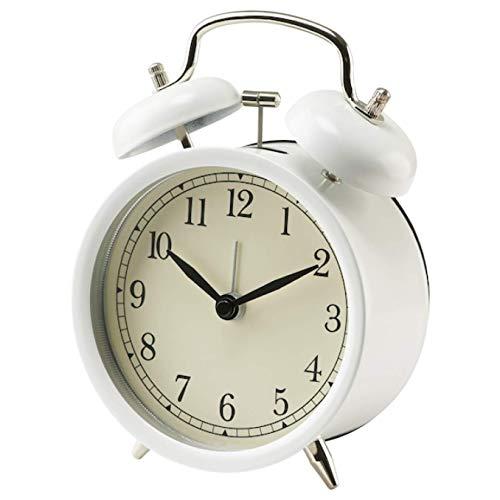 IKEA Dekad 002.703.94 - Reloj despertador, color blanco
