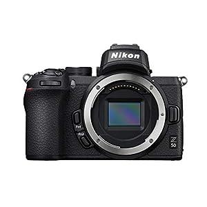 """Nikon Z50 ボディミラーレスカメラ (209ポイントハイブリッドAF、高速画像処理、4K UHD映画、高画質液晶モ..."""""""