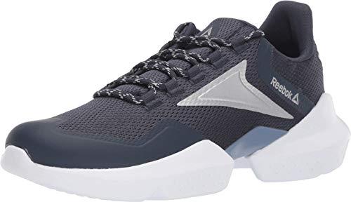 Reebok Split Fuel Running Shoe, Navy/Washed/Silver/White, 10.5 M US