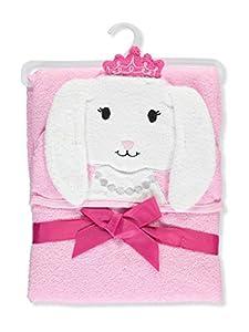 Hudson Baby Animal Face Hooded Towel