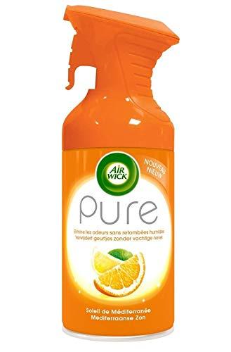 AirWick Pure Luchtverfrisser Spray - Mediterrane zon - 6 stuks (6 x 250 ml)