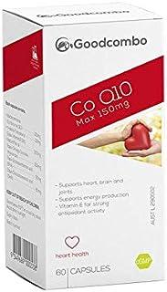 Goodcombo Co Q10 MAX 150mg 60s, 140 grams