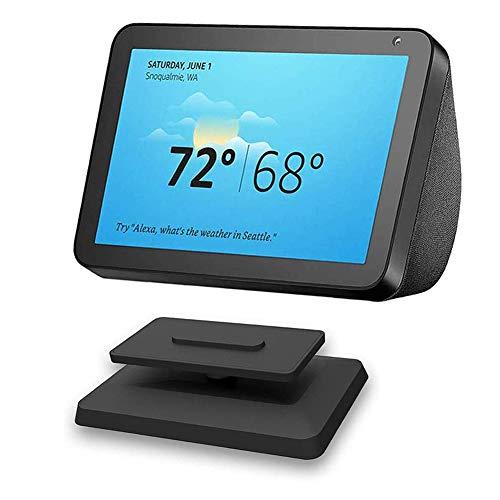 Kiner - Soporte para Echo Dot 4ª generación Wall Mount Hanger Holder Poour Dot de 3ª generación, Echo Show 5/8 Stand, altavoz Bluetooth inteligente Alexa Stand (Echo Show 8), color negro
